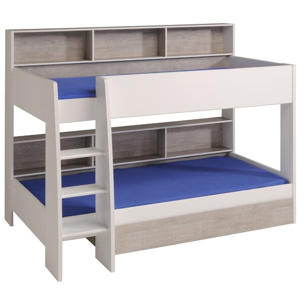 Depuy Twin Over Twin Bunk Bed With Mattress By Zoomie Kids by Zoomie Kids Amazing