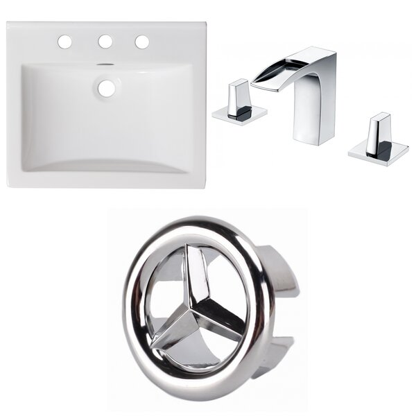 Omni Ceramic 21 Single Bathroom Vanity Top