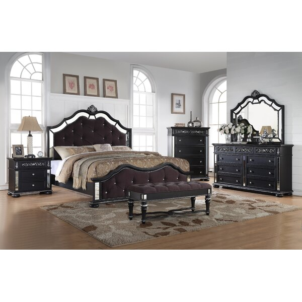 Russ Upholstered Standard Bed by Rosdorf Park