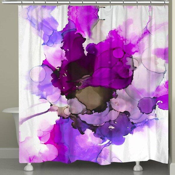Meltzer Radiant Jewel Tones Shower Curtain by Latitude Run