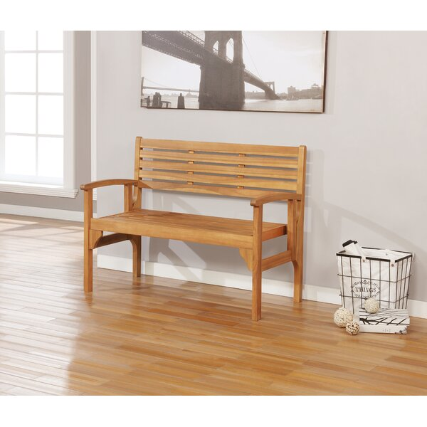 Montagna Folding Wooden Garden Bench by Union Rustic Union Rustic
