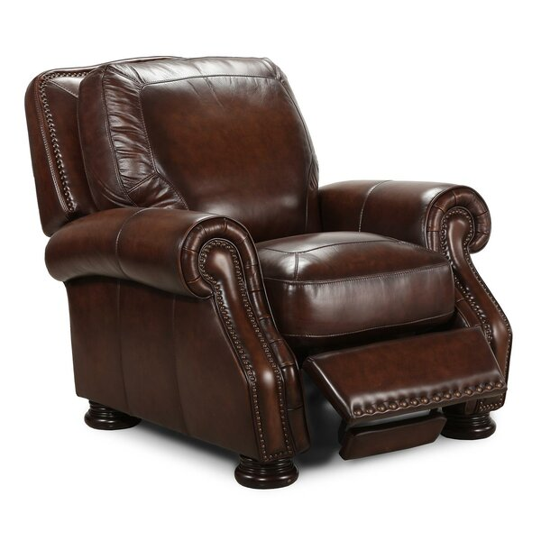 Ranold Leather Manual Recliner by Darby Home Co