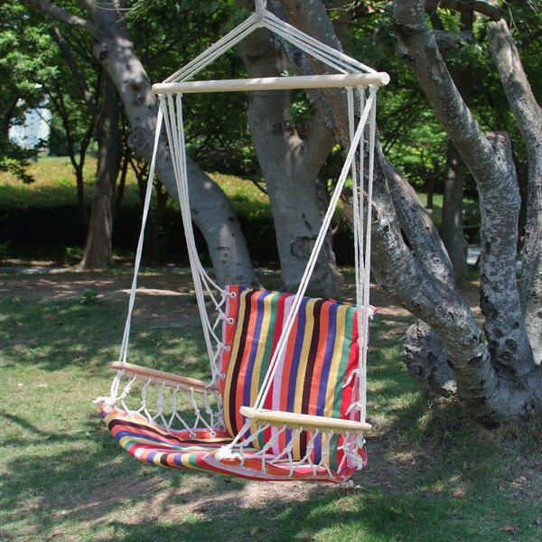Hanging Suspended Chair Hammock by Adeco Trading