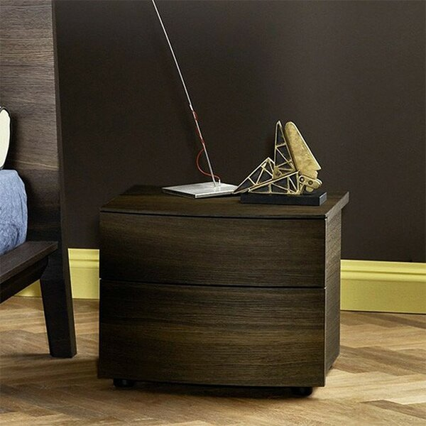 Zackary 2 Drawer Nightstand by Corrigan Studio