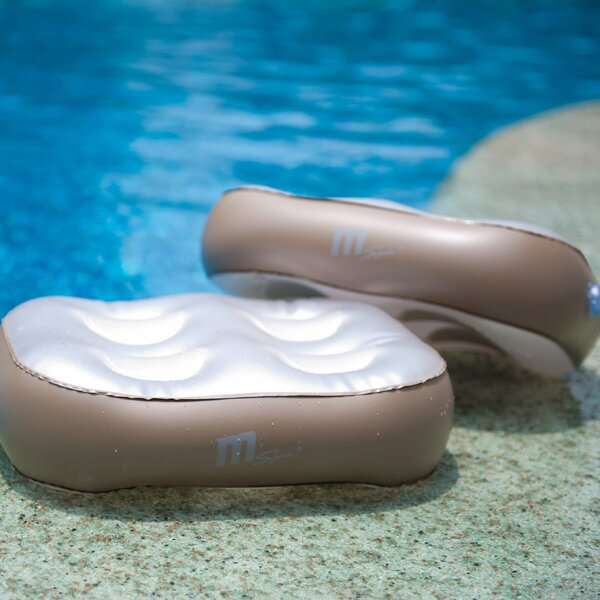 Inflatable Spa Cushion Seat (Set of 2) by MSPA USA