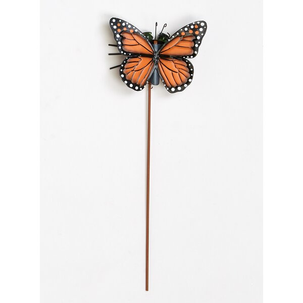 Metal Butterfly Garden Stake by Worth Imports