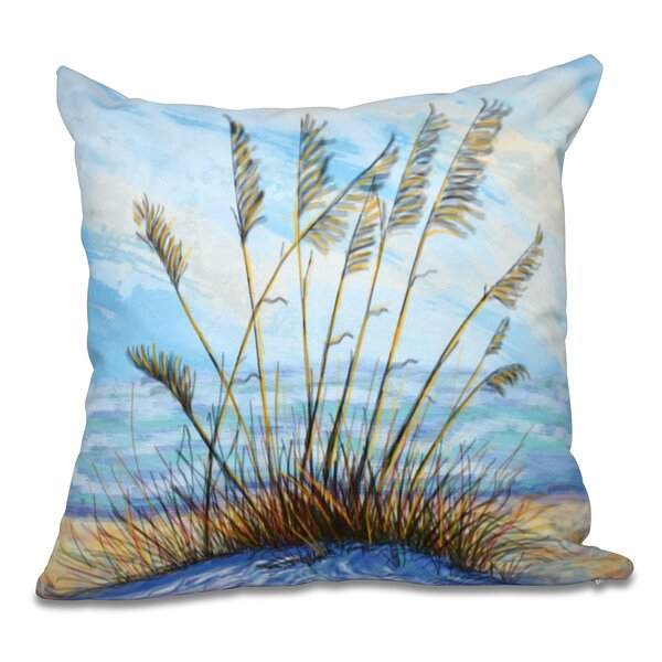 Cedarville Floral Print Throw Pillow by Highland Dunes