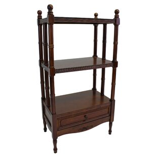 Betty Etagere Bookcase by Astoria Grand Great price