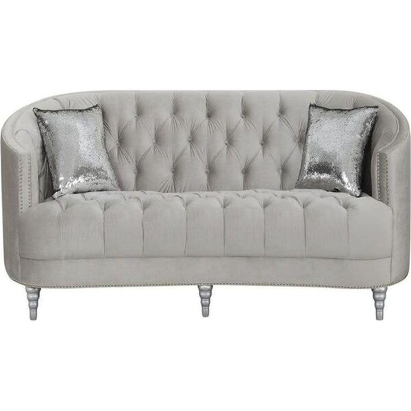 Cranon Chesterfield Loveseat by Canora Grey