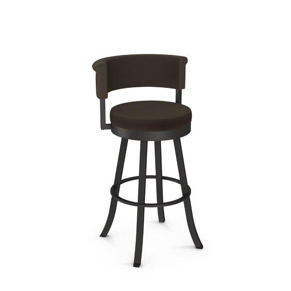Lillian 31 Swivel Bar Stool by Ebern Designs