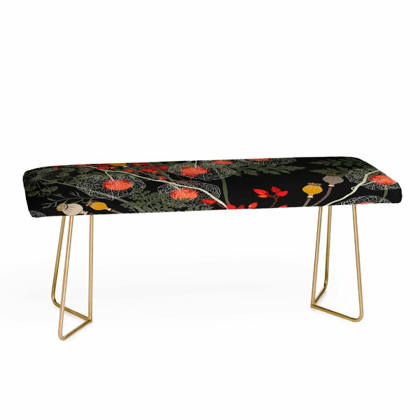 Iveta Abolina Upholstered Bench by East Urban Home