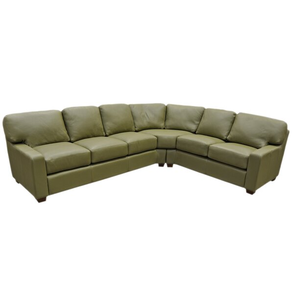 Albany Sectional by Omnia Leather