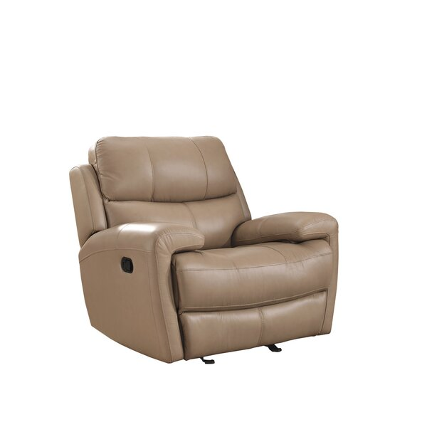 Defazio Leather Power Glider Recliner by Red Barrel Studio