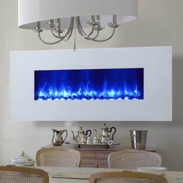 Gallaudet LED Wall Mounted Electric Fireplace by Orren Ellis Orren Ellis