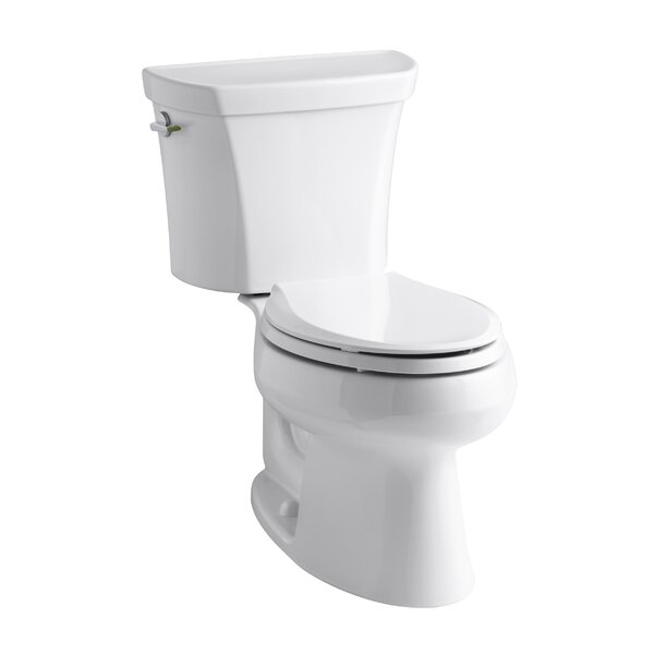Wellworth 1.6 GPF Elongated Two-Piece Toilet by Kohler