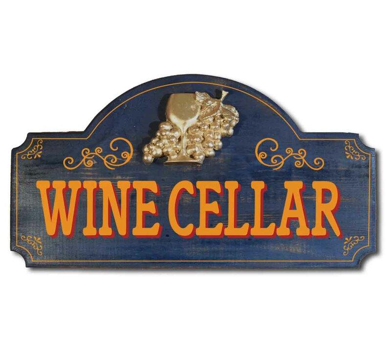 Winston Porter Wine Cellar Ragtime Sign