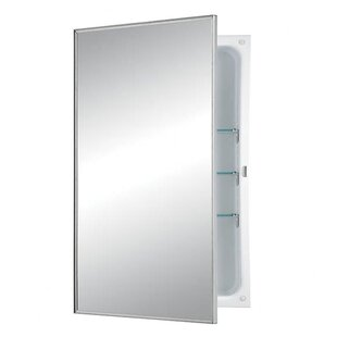 Reviews Styleline 16 x 26 Recessed Medicine Cabinet By Jensen
