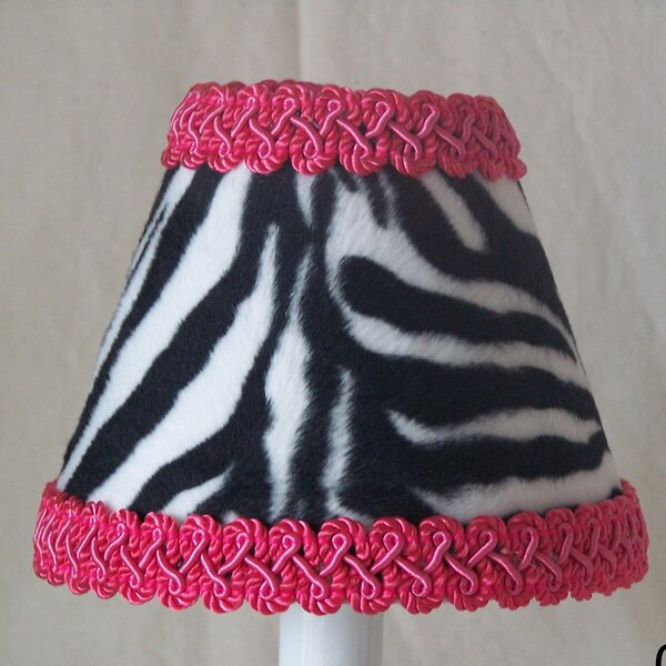 Zebra Prink Night Light by Silly Bear Lighting