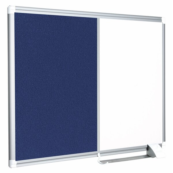 New Generation Gold Ultra Wall Mounted Magnetic Bulletin Board by Mastervision