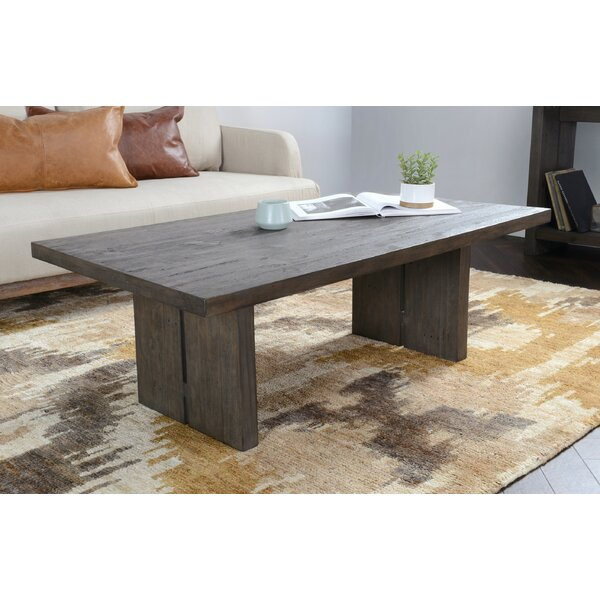 Ivar Solid Wood Sled Coffee Table By Gracie Oaks