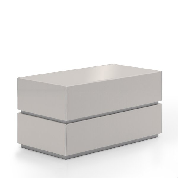 Potenza 2 Drawer Nightstand By Argo Furniture