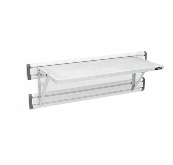 Premier Series GearLoft Steel Garage Shelf in Hammered White by Gladiator
