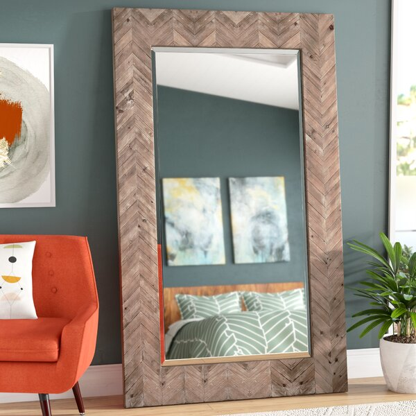 Chevron Accent Mirror by Corrigan Studio