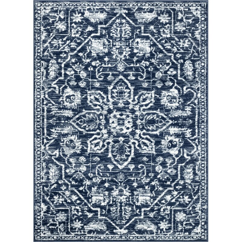 Dazzle Disa Medallion Dark Blue Area
