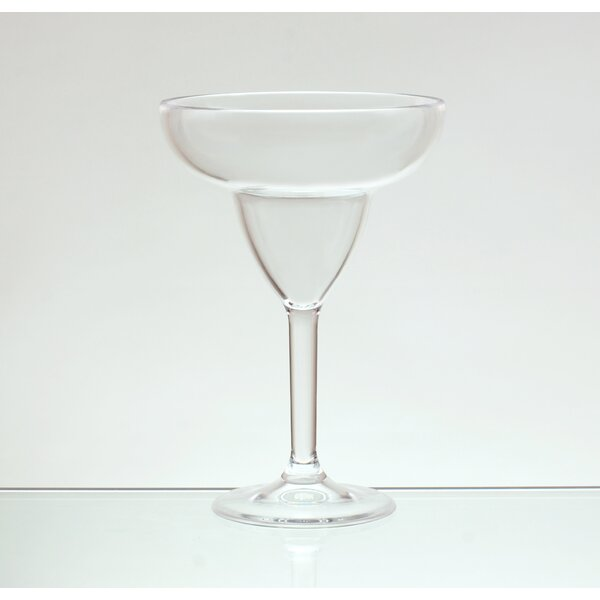 Lana 12 oz. Acrylic Margarita Glass (Set of 4) by Red Barrel Studio