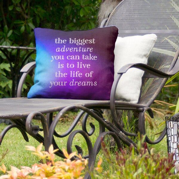 The Biggest Adventure Indoor/Outdoor Throw Pillow