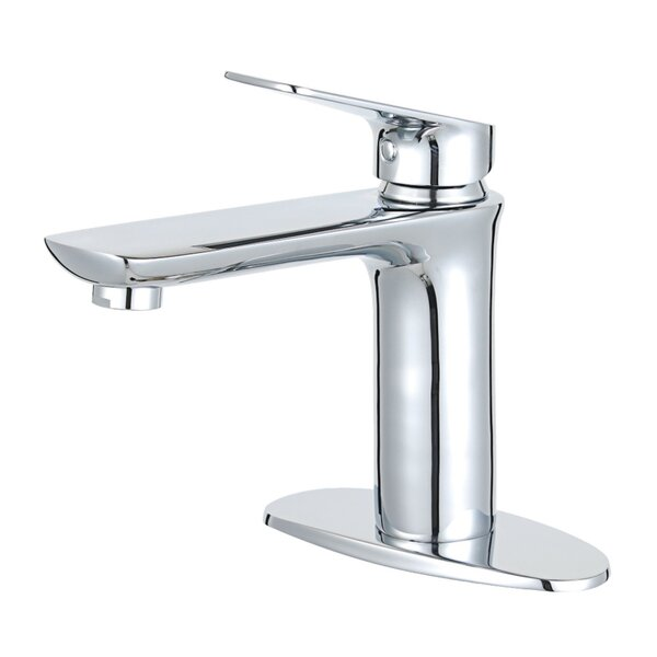 Frankfurt Single Hole Bathroom Faucet with Drain Assembly