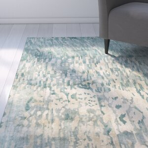 Eridani Light Gray/Blue Area Rug
