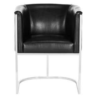 Reynaldo Leather Armchair by Willa Arlo Interiors