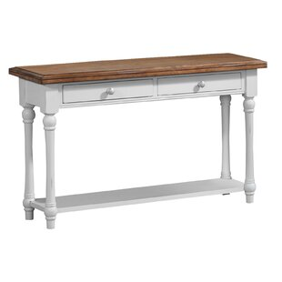 Courtney Sofa Console Table by Highland Dunes