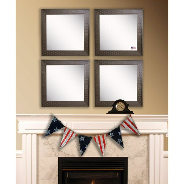 Hille Bricks Wall Mirror (Set of 4) by Winston Porter