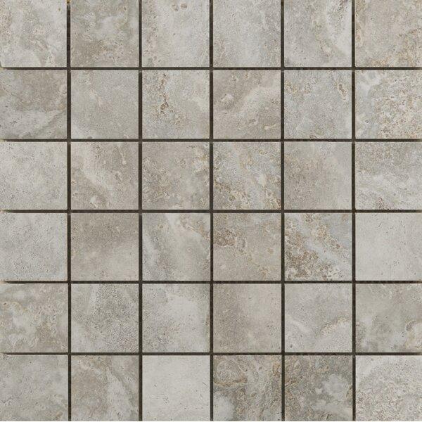 Lucerne 2 x 2/13 x 13 Porcelain Mosaic Tile in Matterhorn by Emser Tile