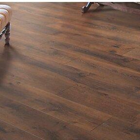 Cashe Hills 8 x 47 x 7.87mm Oak Laminate Flooring in Mocha by Mohawk Flooring