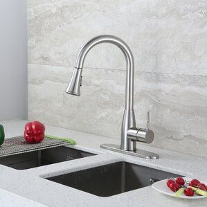 Luxier Contemporary Single Handle Pull Do..
