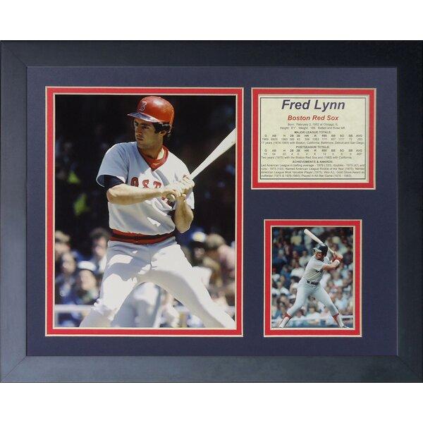 Fred Lynn Framed Memorabilia by Legends Never Die