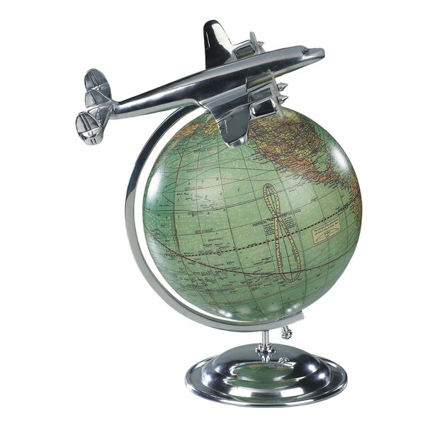 On Top Of The World Globe by Authentic Models