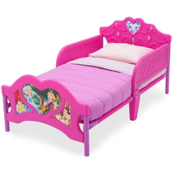 Disney Princess Convertible Toddler Bed by Delta Children