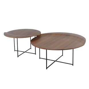 Low priced Lauzon 2 Piece Coffee Table Set By Union Rustic