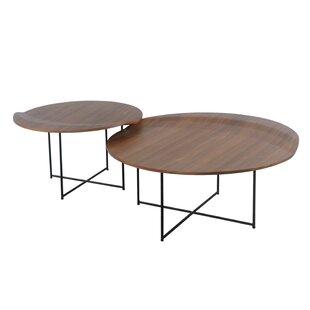 Reviews Lauzon 2 Piece Coffee Table Set ByUnion Rustic