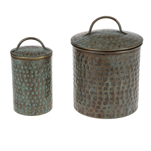 2 Piece Jar Set by Bloomsbury Market