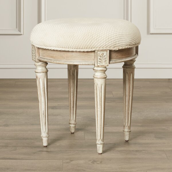 Corinne Vanity Stool by Darby Home Co