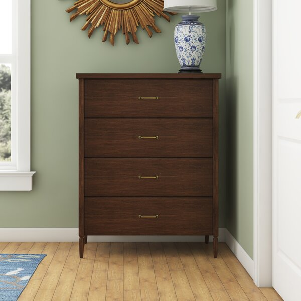 Tullos 4 Drawer Chest by Darby Home Co