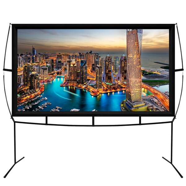 Jumbo White 100 Portable Projection Screen by Khomo Gear