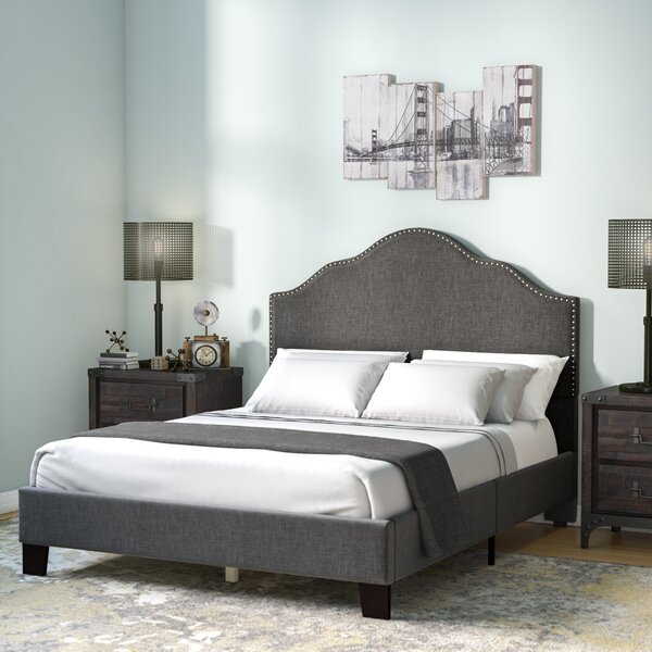 Kinnison Upholstered Panel Bed by Trent Austin Design