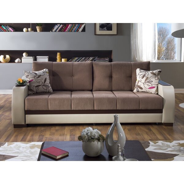 Low Cost Sleaford 3 Seat Sleeper Sofa by Orren Ellis by Orren Ellis