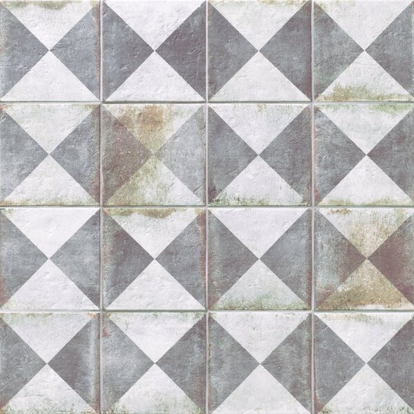 Relic Décor 8.75 x 8.75 Porcelain Field Tile in Triangoli by EliteTile